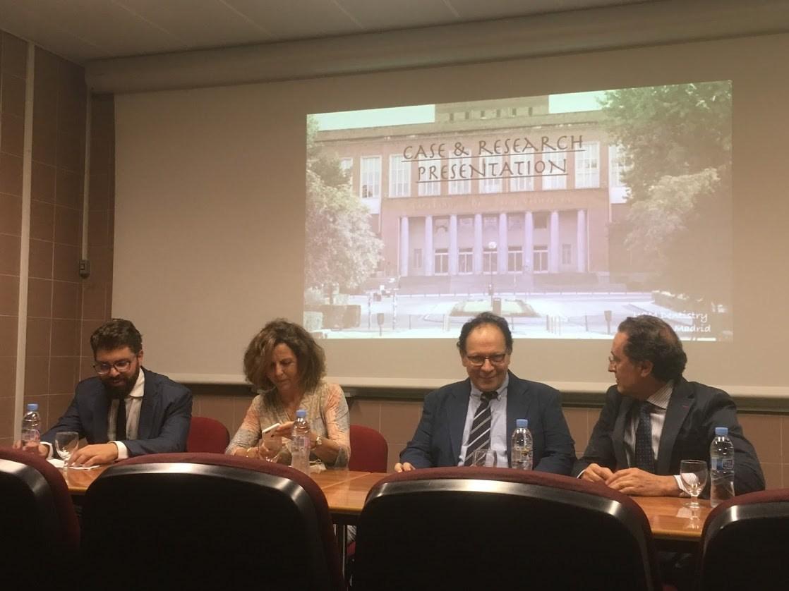Alejandro Iglesias, Leonor Muelas, Stavros Kiliaridis, Juan Carlos Palma