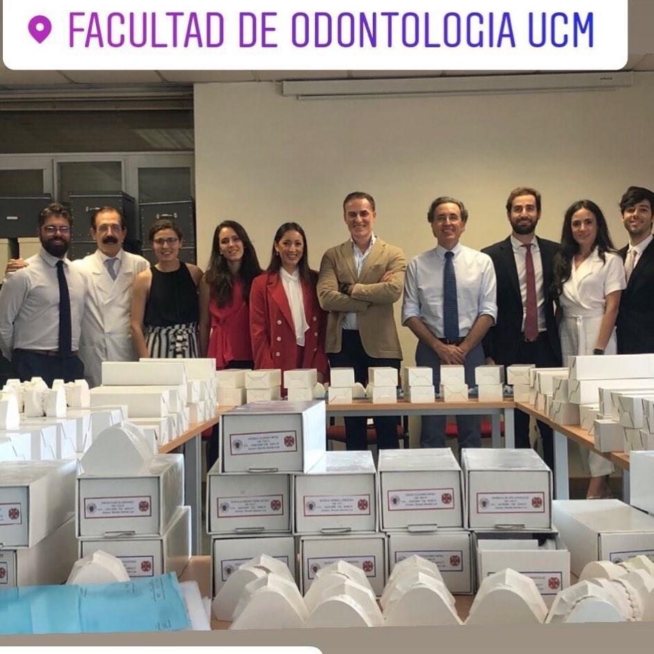 Master Ortodoncia UCM 2019. Prof del Master.